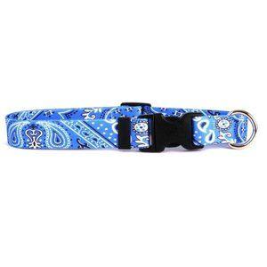 Blue Bandana Standard Dog Collar